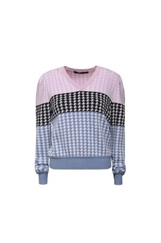 PULLOVER TRICOT GEO